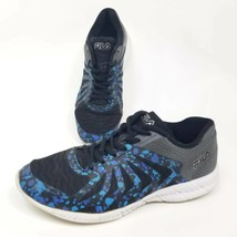 Fila Girls Sz 5.5 Faction 3 Low Top Shoes Blue Abstract 3RM00017-009 Sneakers - $12.38