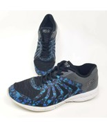 Fila Girls Sz 5.5 Faction 3 Low Top Shoes Blue Abstract 3RM00017-009 Sne... - $12.38