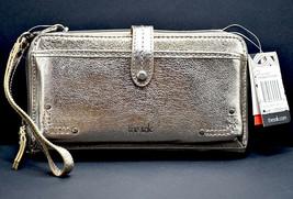 The Sak Iris Womens Leather Phone Bag Crossbody Clutch Bag Wristlet Metallic - $64.89