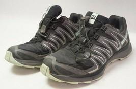 Salomon XA Comp 8 Women's Trail Running Shoes Sz9 - Black/Teal 402149 - $59.99