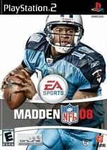 Impazzire NFL 08 - PLAYSTATION 2 Video Gioco - $2.07