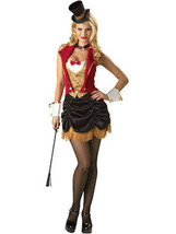 Incharacter Drei Ring Sexy Frauen Zirkus Löwe Dompteur Halloween Cosplay - $104.99
