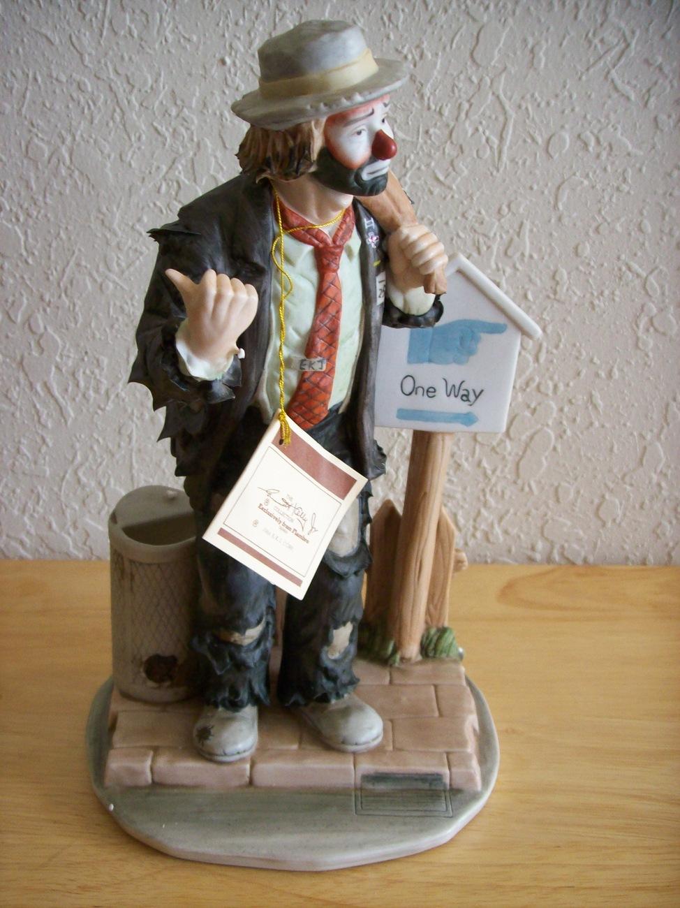 "Emmett Kelly JR. ""On the Road, Again"" Figurine"