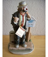 "Emmett Kelly JR. ""On the Road, Again"" Figurine - $135.00"