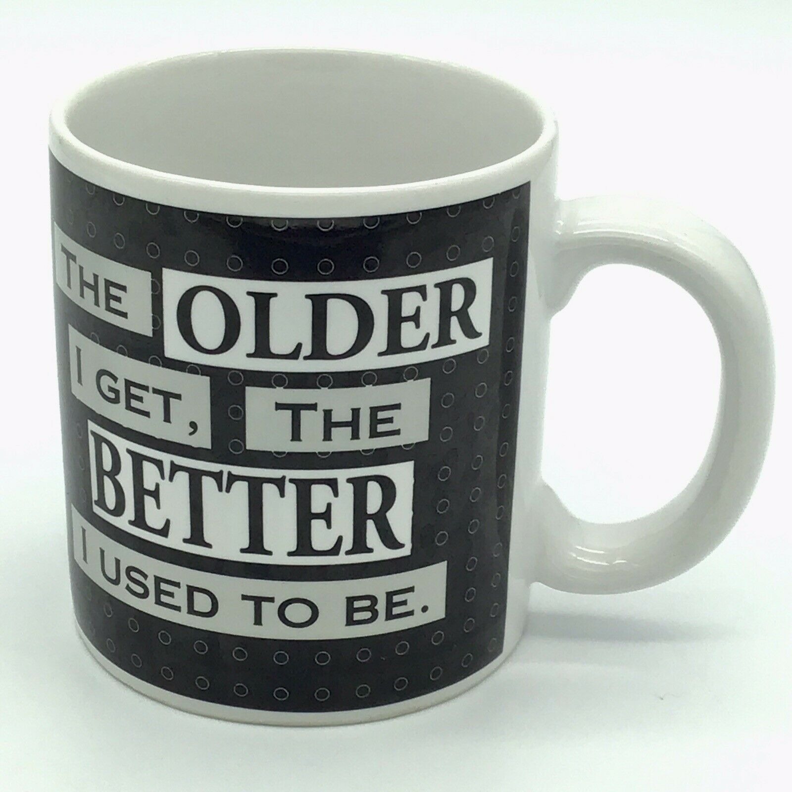 Primary image for Russ Berrie Coffee Mug The Older I Get The Better I Used To Be Birthday Humor