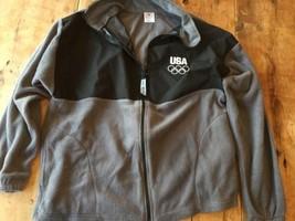 Team USA London Committee Full Zip Fleece Jacket L olympics - $17.09