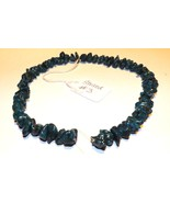 """Dark Turquoise Nuggets 16"""" Strand (57 pieces) Drilled - $12.59"""