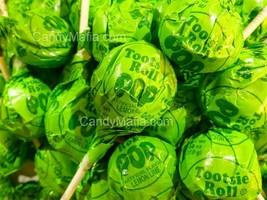Tootsie Pops Lemon Lime 30 Lemon Lime Tootsie pop lollipop bulk candy su... - £10.15 GBP