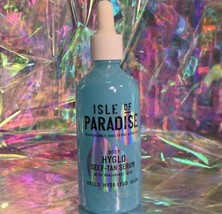 NEW Isle Of Paradise HYGLO Body Hyaluronic Self Tanning Serum Firming Anti Aging
