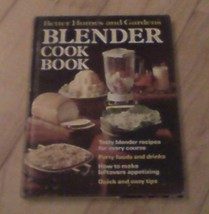 Better Homes and Gardens Blender Cook Book 1971 First Printing HC Good - $2.49