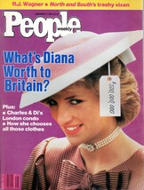 People Magazine November 11, 1985 What's Diana Worth to Britain? - $4.99