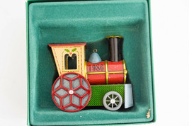 Hallmark: Tin Locomotive - Series 1986 - Classic Keepsake Ornament - $12.74