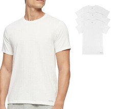 Calvin Klein CK Men's Cotton Crew Neck Classic Fit T-Shirts - Pack of 3 size M