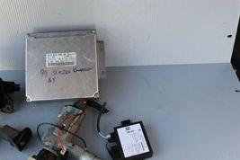 1999 Mercedes SLK230 Ignition Switch Skreem Door Trunk Glovebox Lock Key Fob ECU image 5