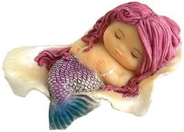 Top Collection Miniature Fairy Garden and Terrarium Little Mermaid Sleep... - $16.75