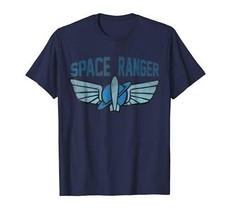Disney Toy Story Buzz Space Ranger Star Command Logo T-Shirt - $33.32