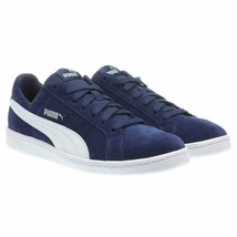 a092fbd6a45 PUMA Mens Shoes Navy Blue White Suede Upper Softfoam Rubber Outsole Lace-Up  -  54.99