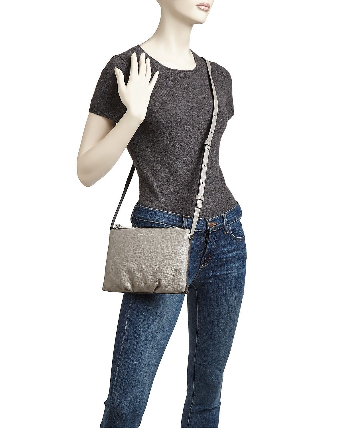 MARC By Marc Jacobs M0011227 The Standard Colorblock Leather Crossbody/Shoulder - $199.00