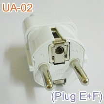 X5) Universal Adaptor UA02 PlugE+F Mobility scooter parts Spain  Poland ... - $27.50