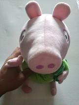 "Peppa Pig Sleep N' Oink 12"" George Dinosaur Plush - $9.90"
