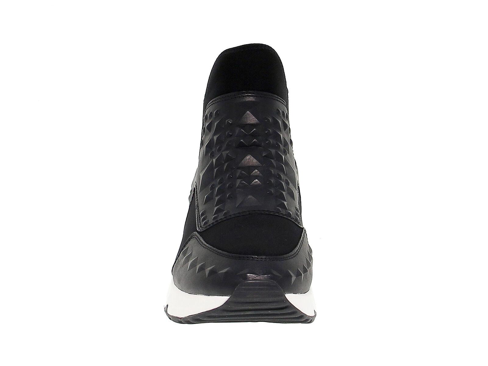 Sneakers ASH LASERSTUDS in tessuto nero - Scarpe Donna