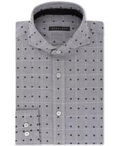 Sean John Men's Tailored Fit Multi-Check Dress Shirt (Excalibur, 17×36/37) - $54.35