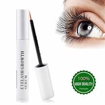 SWAN STAR Natural Eyelash Growth Serum Lash Brow Enhancer & Nourish Dama... - $33.02
