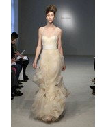 Vera Wang Gabriella Mermaid Wedding Dress Sz 10 Mrsp $4500 - $376.15