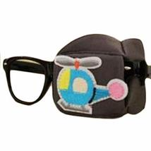Child Silk Glasses Eye Mask Amblyopia Strabismus Lazy Eye Patches-Gray #03 - $17.29