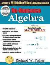 No-Nonsense Algebra: Part of the Mastering Essential Math Skills Series ... - $15.64
