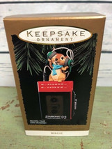 Hallmark - Keepsake Ornament  Magic  Messages of Christmas Recorder 1993 NIB - $17.82