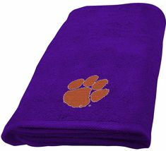 Clemson University Hand Towel Dimensions are 15 x 26 inches - $16.95