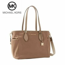 Michael Kors Connie Large Diaper Bag in Dark Khaki - $217.80