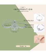 Hot Sale 100% 925 Sterling Silver Tree of Life Tennis Bracelet Women Adj... - $36.97
