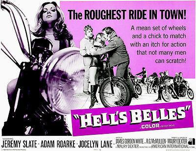 Primary image for Hell's Belles - 1969 - Movie Poster