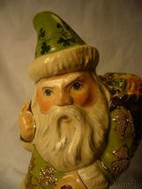 Vaillancourt Irish Santa with Basket of Luck Signed by Judi Vaillancourt image 6