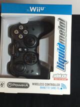 Wii U Liquid Metal Wireless Game Controller Sidekick Power A Nintendo An... - $18.42
