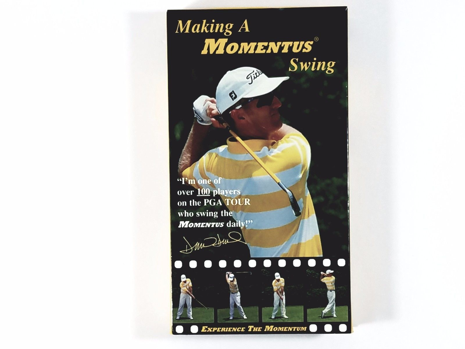 Primary image for Momentus Swing Trainer David Duval Making A Momentus Swing VHS Golf Video