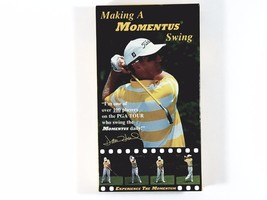 Momentus Swing Trainer David Duval Making A Momentus Swing VHS Golf Video  - $8.68