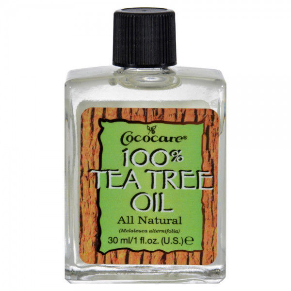 Cococare 100% Tea Tree Oil All Natural for Refreshing & Soothing Skin 1oz