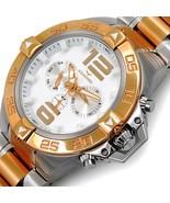 AQUASWISS Men's G74 2-Tone Day/Date Brand New Multifunction Watch-List $995 - $213.75