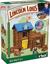 LINCOLN LOGS  Horseshoe Hill Station  83 Pieces  Ages 3+ Preschool Educa... - $58.42