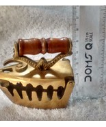 Home decor gift Antique brass iron show piece miniature - $28.71