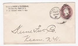 GREEN & WATERMAN TROY NEW YORK 1887 - $2.98