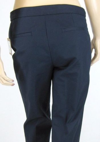 Ellen Tracy Navy Dress  Ankle Length Pants 24 Inch Inseam Size 4 New 8672