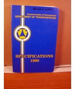 Specifications 1990 Commonwealth of Pennsylvania Dept of Transportation ... - $13.49