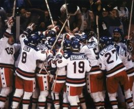 1980 US Olympics SAS Vintage 5X7 Color Hockey Memorabilia Photo - $3.95