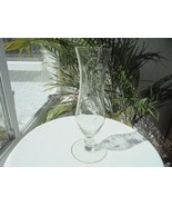 "Tall Cut Crystal Bud Vase 10"" Tall - $9.90"