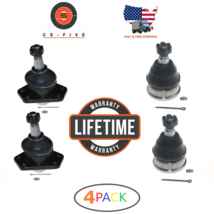 LIFETIME 4Pc Upper Lower Front Suspension Ball Joint For Chevy S10 2WD 1... - $46.74