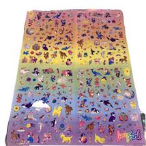 VTG Lisa Frank Poster Size Sticker Quad SUPER HTF About 5 Stickers Missing image 1